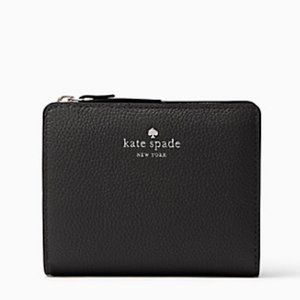 Kate Spade Small Black Wallet (NWT)